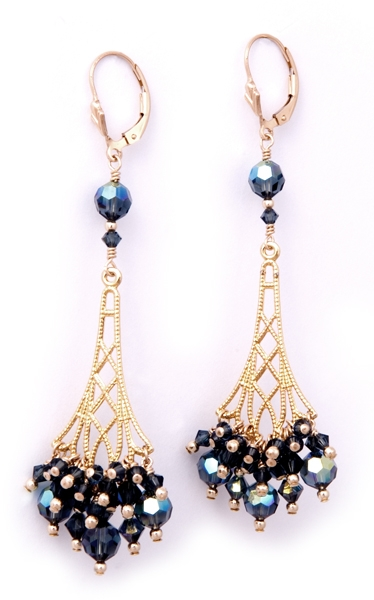 Gold_and_Blue_Earrings